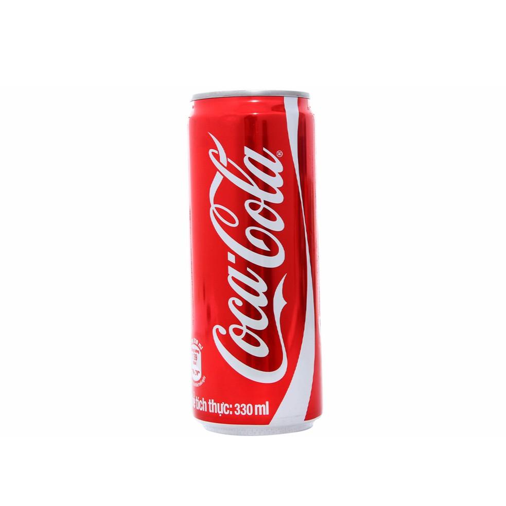 Nước ngọt Coca lon cao 330ml 0