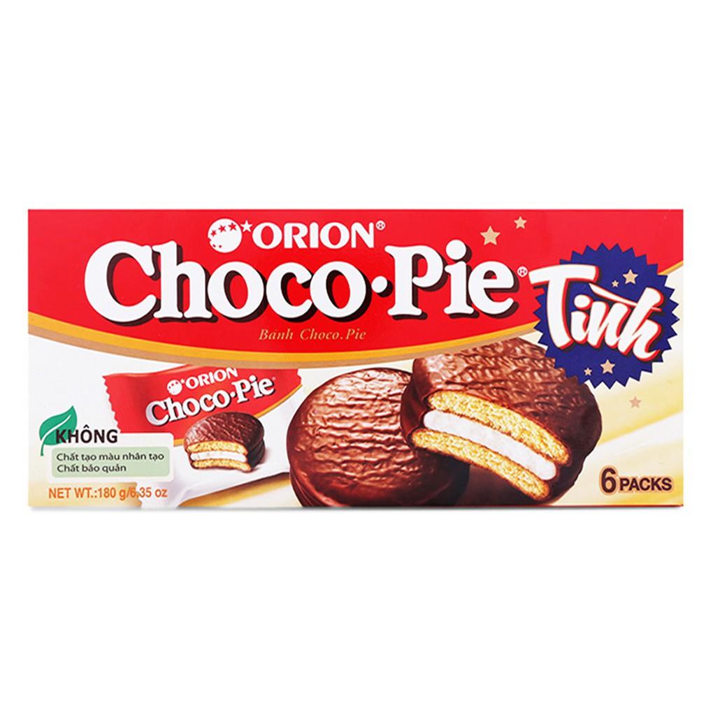 Bánh ChocoPie Orion 6 Packs hộp 180g 0