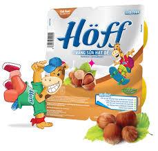 Váng sữa Hoff hạt dẻ vỉ 4 hũ x 55g 0