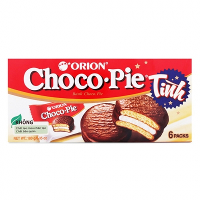 Bánh ChocoPie Orion 6 Packs hộp 180g