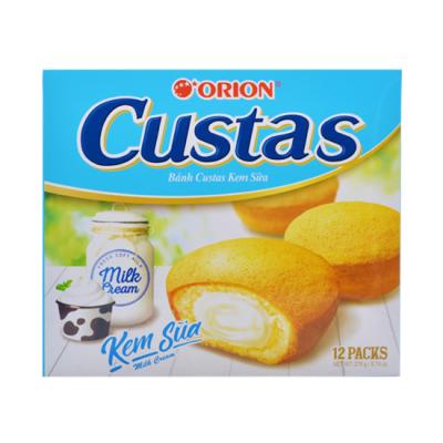 Bánh trứng Custas Orion 12 Packs hộp 276g (8)