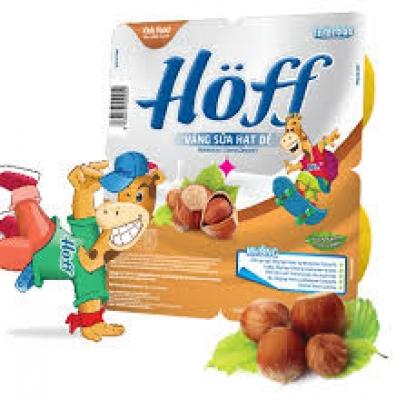 Váng sữa Hoff hạt dẻ vỉ 4 hũ x 55g