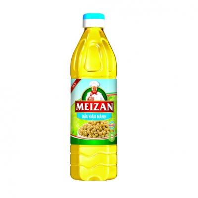 Dầu ăn Meizan đậu nành 1L