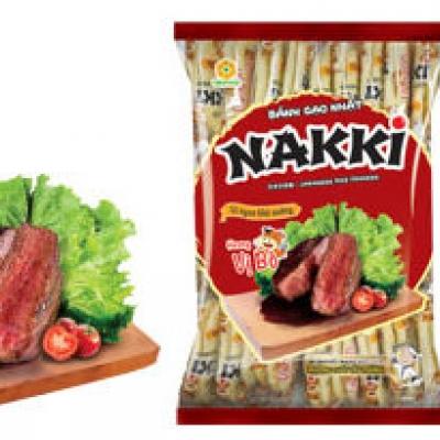 bánh gạo nhật Oki+naki hương vị bò 150g(20)